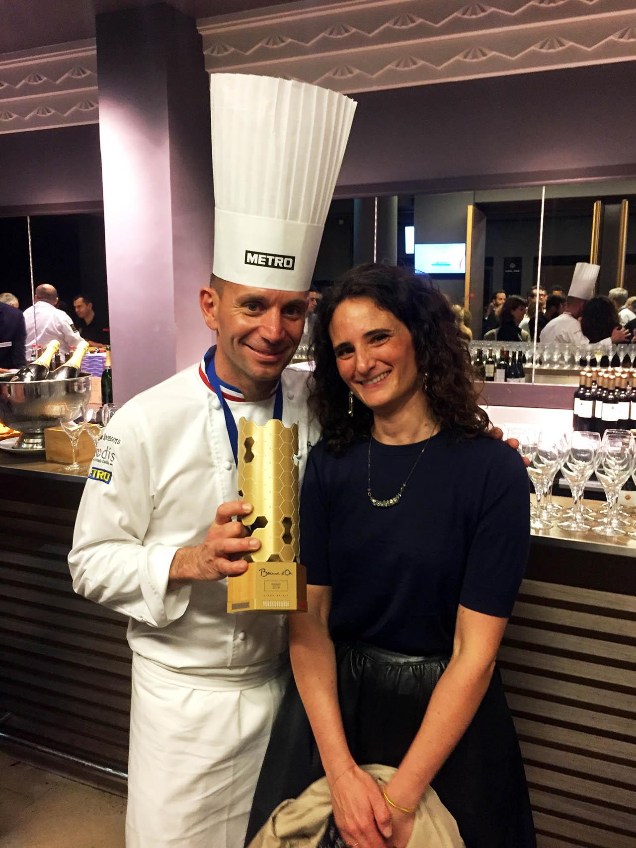 Accompagnement du Chef Davy Tissot sur le concours du Bocuse d'Or France 2019. Design culinaire et DA des menus papier
