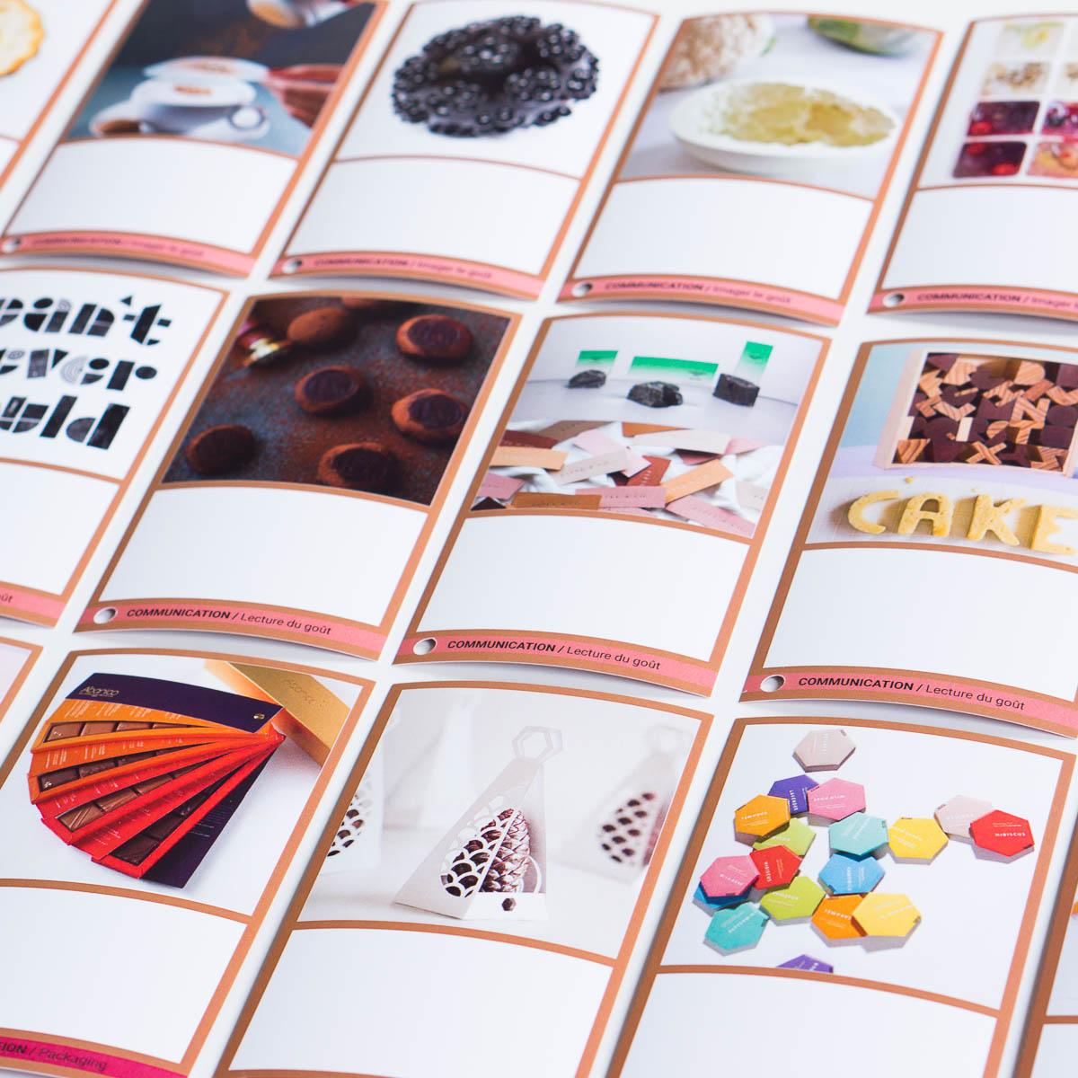 La Conche (Valrhona) • Rencontre de chocolatiers •Outil d'inspirations développé par le Studio Exquisite pour réfléchir aux nouveaux enjeux des colorants alimentaires